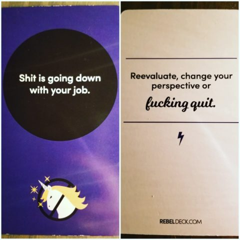 Rebel Deck Card